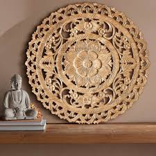 lotus flower wall panel vivaterra