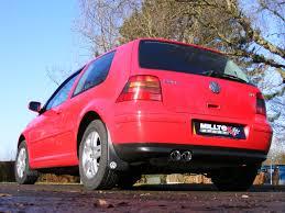 volkswagen gti custom volkswagen golf mk4 gti 1 8t milltek exhaust