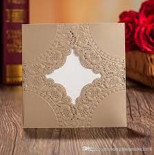 Wedding Invitation Companies 2016 Wedding Invitations Gold Paper Blank Inner Sheet Laser