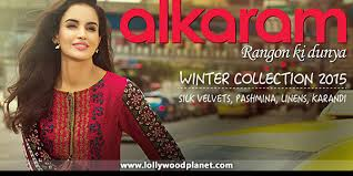 alkaram winter collection 2015 16 prices linen silk velvets