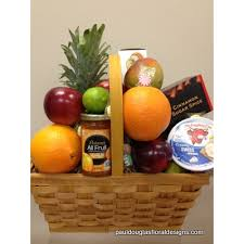 gourmet basket fruit and gourmet basket cohasset florist paul douglas floral