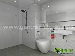 Modern Bathrooms Australia by Visualize Your Modern Bathroom Design With Yantram Yantram Studio