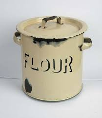 enamel kitchen canisters 62 best flour images on vintage tins vintage