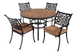 Aria Patio Furniture Outdoors The - hartman celtic aria 4 seater cast aluminium dining set complete