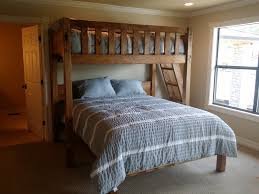 Queen Or King Texas Bunk Bed Twin Over Queen Rustic - Full loft bunk beds