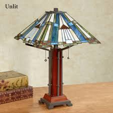 Best Light Bulbs For Dining Room by El Camino Southwest Stained Glass Table Lamp