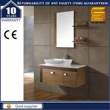 bathroom vanity with side cabinet china 40 counter top melamine mdf bathroom vanity unit with side