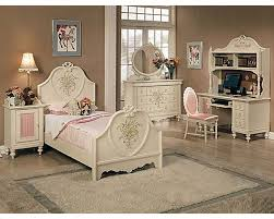 White Furniture Bedroom Sets Acme Furniture Bedroom Set In Cream Ac02665tset