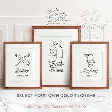 Ideas For Decorating Bathroom Walls Colors Best 25 Kids Bathroom Art Ideas On Pinterest Bathroom Wall Art