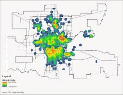 Portland Crime Map Carless In Okc Where Do The Children Play Gang Violence In Okc
