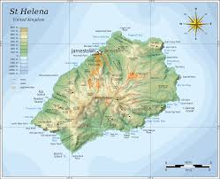 Arizona Elevation Map by File Topographic Map Of Saint Helena En Svg Wikimedia Commons