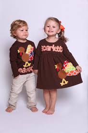 thanksgiving dress shirt set sibling set