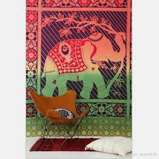 American Flag Tapestry Wall Hanging 2018 150 130cm Red Elephant Tapestry Indian Mandala Hippie Wall