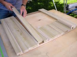 How To Build A Table Top Build A Coffee Table To Fit Over Storage Ottomans Hgtv