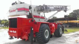 linkbelt rtc 8065 65 ton rt crane in florida crane for on