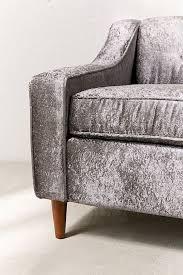 milly velvet sofa urban outfitters