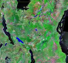 Map Of Germany And Surrounding Countries by Tanzania Map And Satellite Image