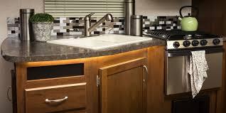 kitchen sinks one piece kitchen sink and countertop one piece