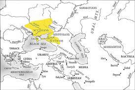 Silk Road Map Scythian Map Use With Caution Silk Road Toronto