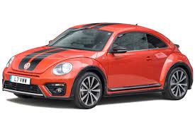 red volkswagen beetle volkswagen beetle hatchback review carbuyer