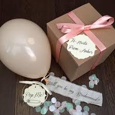 Bridesmaid Asking Gifts Will You Be My Bridesmaid