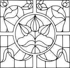Flower Glass Design 113 Best Stained Glass Images On Pinterest Stains Leaded Glass