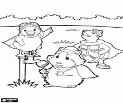pets coloring page wonder pets coloring pages printable games