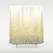 White And Yellow Shower Curtain White And Yellow Shower Curtain Madison Park Saratoga Shower