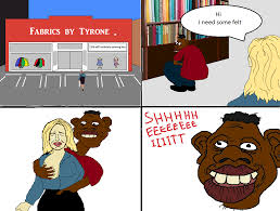 Sheeit Meme - tyrone at the fabric shop sheeeit know your meme
