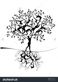 tree of life tree of life ilustración vectorial en stock 46887034