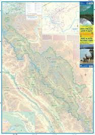 Glacier Park Map Maps For Travel City Maps Road Maps Guides Globes Topographic