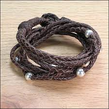 make leather woven bracelet images Leather braided bracelets and leather accessories by john JPG