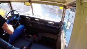 land rover santana 88 1978 land rover santana 88 start u0026 drive youtube