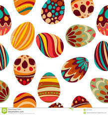 happy easter happy holiday eggs pattern seamless background for