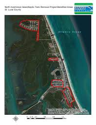 Hutchinson Island Florida Map by North Hutchinson Island Septic Removal Project St Lucie County Fl