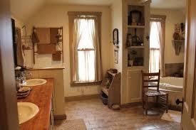 primitive country bathroom ideas bathroom awesome primitive country kitchen curtains curtain