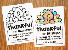 thankful for my students thankful kindergarten and thanksgiving