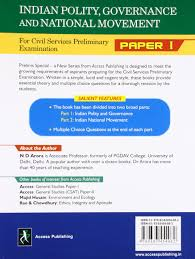 Multiple Choice Questions For Fashion Buy Indian Polity Governance And National Movement For Civil