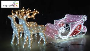 Christmas Animated Reindeer Decorations by Led Christmas Reindeer Outdoor Led Christmas Reindeer Outdoor