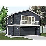 garage plans two car garage with loft apartment plan 1476 4