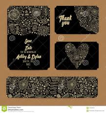 Wedding Invitations With Free Rsvp Cards Wedding Invitation Template Invitation Envelope Thank You Card