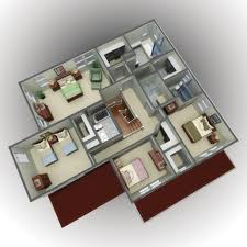 3d Floor Designs by 3d Floor Plan And 3d Site Plan Renderings Prevision 3d
