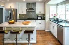 Kitchen Cabinet Refacing Cost Average Cost To Refinish Kitchen Cabinets Large Size Of Kitchen