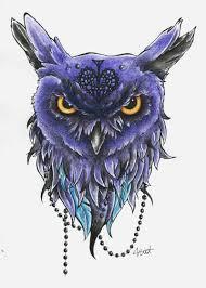 Color Dec Owl Design Added Color By Vlidery On Deviantart