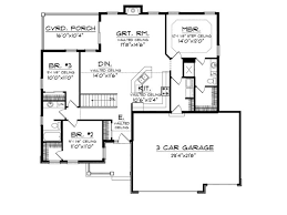 Craftsman Ranch House Plans 206 Best House Plans Images On Pinterest House Floor Plans