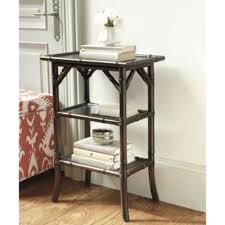 ballard designs end tables hallway 1st floor odette rectangular side table bamboo finish 29
