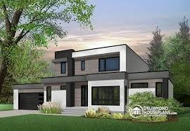 modern home plan house plan w3883 detail from drummondhouseplans com