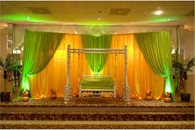 wedding stage flower and reception decorations in hyderabad