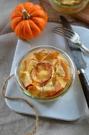 cuisiner potiron lasagnes végétariennes aux chignons et potiron recette