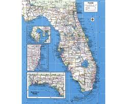 A Map Of Florida Maps Of Florida State Collection Of Detailed Maps Of Florida